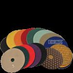 Алмазные гибкие диски для ручной полировки