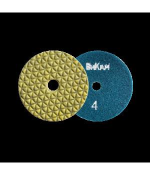 Алм. гибкий диск НС 5 шаговые D100 №4