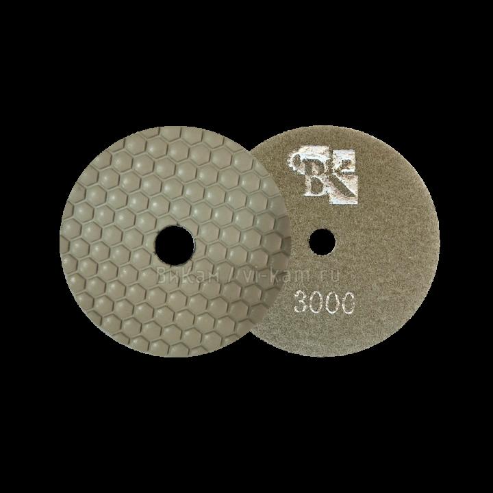 Алм. гибкий диск STONE CRAFT сух. D100 №3000