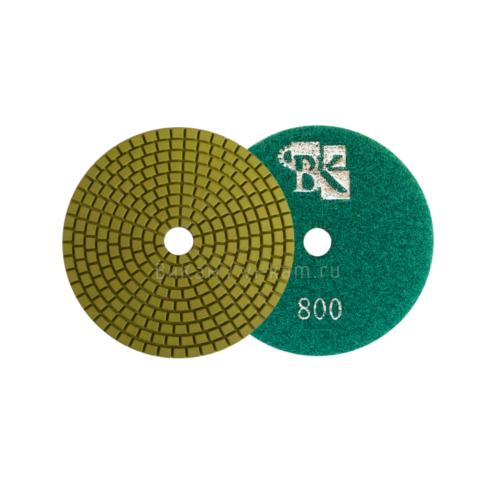 Алм. гибкий диск Olivine D100 №800