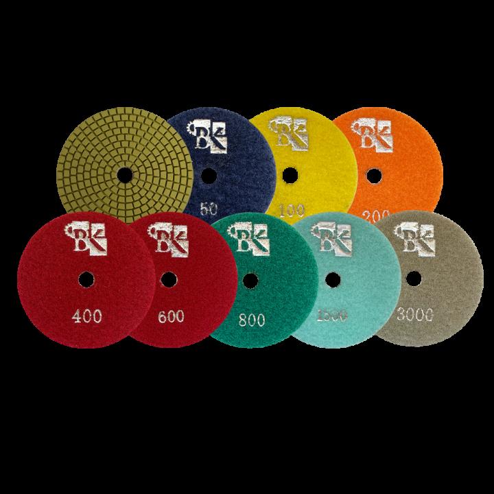 Алм. гибкий диск Olivine D100 комплект
