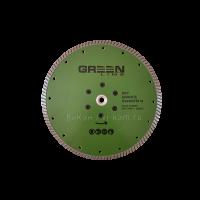 """Отр. диск """"GREEN  LINE"""" по граниту с фл. М14 D230"""