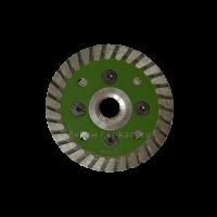 """Отр. диск """"GREEN  LINE"""" по граниту с фл.  М14 D65"""