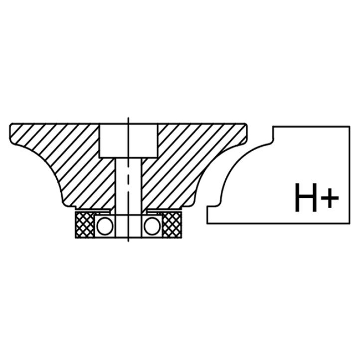 Комплект профилей Инватех H30+ (7шт.)