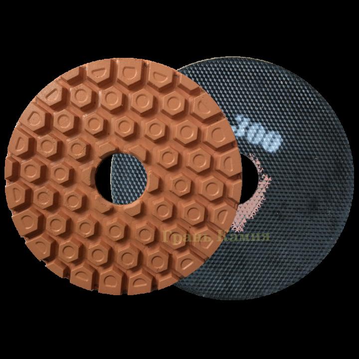 Шлифовально-полировальный круг СОТЫ D250 №300