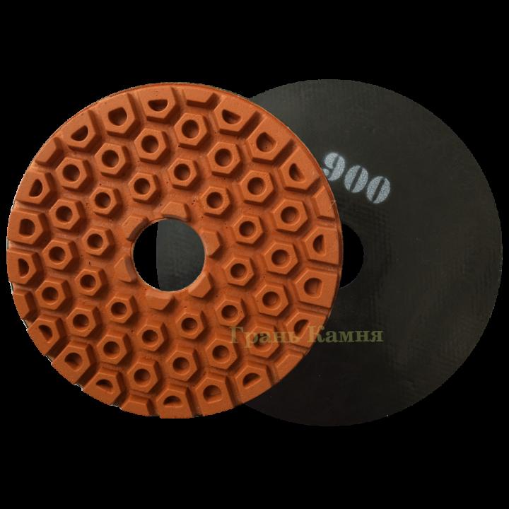 Шлифовально-полировальный круг СОТЫ D250 №900