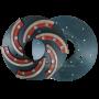 Шлифовальный круг со съемным сегментом Инватех D250 №0