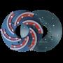 Шлифовальный круг со съемным сегментом Инватех D250 №1
