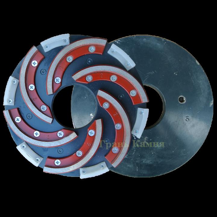 Шлифовальный круг со съемным сегментом Инватех D250 №2