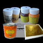 Сусальное золото и компоненты