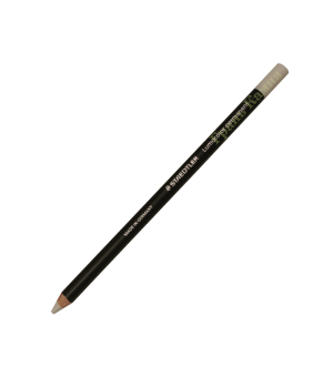 Восковой карандаш деревянный Staedtler белый