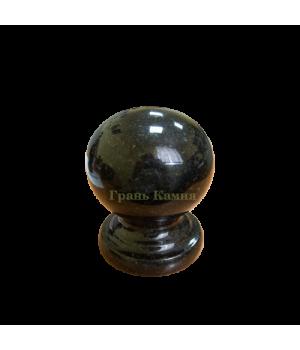 Шар гранитный Габбро (черный) D10