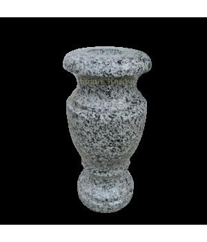 Ваза гранитная Покостовский (серый) H30*D15