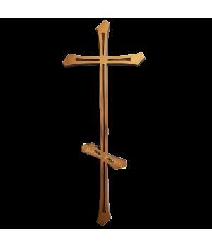Крест православный латунный Н44