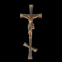 Крест-Распятие православное латунное Н29