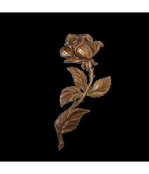 Роза латунная Н25 правая