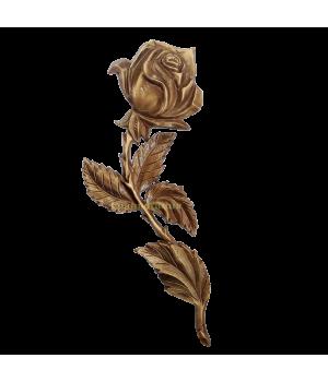 Роза латунная Н32 левая