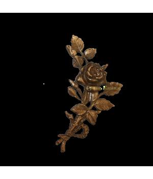 Роза латунная Н18 правая