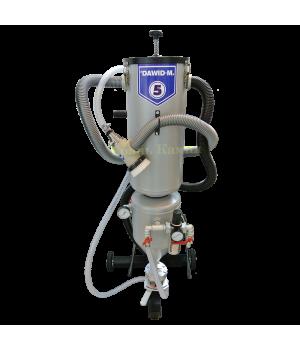 Универсальный пескоструйный аппарат DAWID M5 Sandline (напорного типа)
