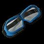 Очки защитные резиновые (стекло)