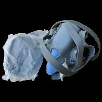 Силиконовый респиратор-маска (2 банки) химия