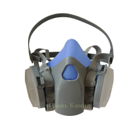 Силиконовый респиратор-маска ( 2 банки ) пылевой