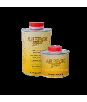 Клей AKEMI AKEPOX 2000 медовый-прозрачный 1,5 кг.