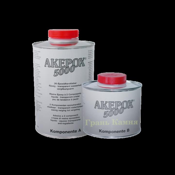 Клей AKEMI AKEPOX 5000 молочный-прозрачный 1,5 кг.